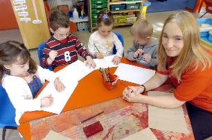 Childcare training programs